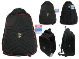 """48 Units of Backpack With Pockets Assorted - Backpacks 15"""" or Less"""