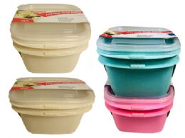 48 Units of Container Assorted Color - Food Storage Containers