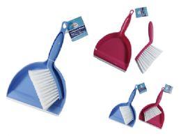 96 Units of Mini Dustpan And Brush - Dust Pans