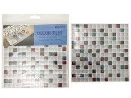 144 Units of Wallpaper Tile Sheet - Home Accessories