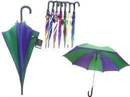 48 Units of Umbrella Assorted Color - Umbrellas & Rain Gear
