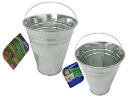 144 Units of TIN BUCKET - Buckets & Basins