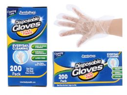 96 Units of Disposable Gloves - Kitchen Gloves