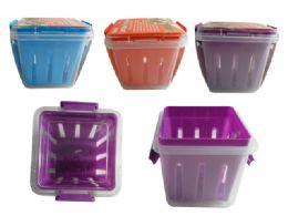 72 Units of Locking Storage Container Basket - Storage Holders and Organizers