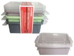 24 Units of Storage Container With Locks - Storage Holders and Organizers