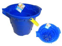 48 Units of Sand Bucket - Beach Toys