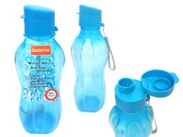 48 Units of SPORT WATER BOTTLE WITH STRAP - Drinking Water Bottle