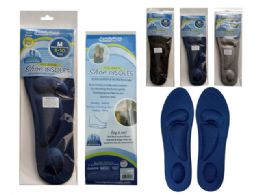 144 Units of 1 Pair Cushioned Shoe Insoles - Footwear & Shoes