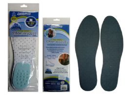 144 Units of SHOE INSOLES WITH HEEL CUSHION - Footwear & Shoes