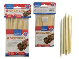 96 Units of 50 Piece Bamboo Skewers - BBQ supplies