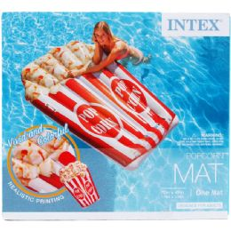 """4 Units of 70""""x49"""" Popcorn Mat In Color Box, Dsgn For Adults - Summer Toys"""