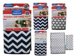 96 Units of 2 Piece Dish Drying Mats - Dish Drying Racks