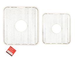 72 Units of Sink Mat In White - Dish Drying Racks