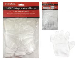 96 Units of GLOVES DISPOSABLE - Kitchen Gloves
