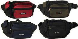 24 Units of Waist Pack/belt Wallet/fanny Pack Sport Assorted - Fanny Pack