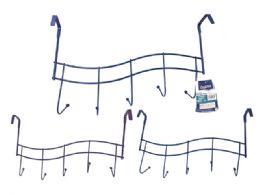 48 Units of 5 Hook Over The Door Hooks - Hooks