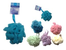 144 Units of LOOFAH BALL ASSORTED COLOR - Bath And Body