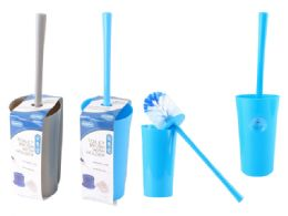 24 Units of TOILET BRUSH WITH HOLDER - Toilet Brush