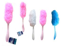 72 Units of BATH SCRUBBER WITH HANDLE - Bath And Body