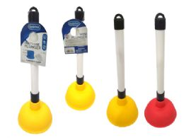 48 Units of Mini Toilet Plunger - Plumbing Supplies