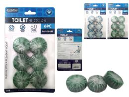 48 Units of Toilet Blocks Citrus,ocean - Toilet Brush