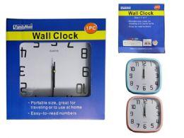 24 Units of Square Wall Clock - Clocks & Timers