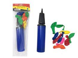 144 Units of Balloon Pump - Balloons & Balloon Holder