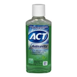 72 Units of 1fl Oz Act Anticavity Fluoride Mouthwash - Toothbrushes and Toothpaste