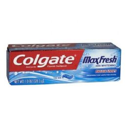 24 Units of Colgate Max Fresh Cool Mint Toothpaste - Toothbrushes and Toothpaste