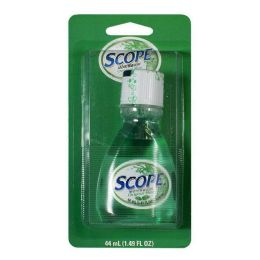 6 Units of Crest Scope Mint Mouthwash Carded 1.2 oz. Carded Travel Size - Toothbrushes and Toothpaste