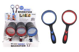 30 Units of Mini Magnifying Glass (2.5x) (rubber Coated) - Magnifying  Glasses