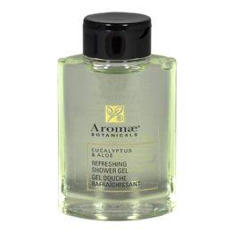 36 Units of Travel Size Aromae Botanicals Eucalyptus Shower Gel 1 oz. - Soap & Body Wash