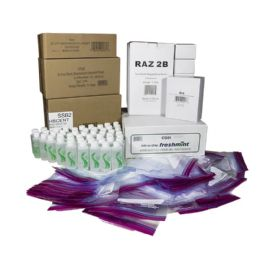 144 Units of Mens Toiletry Kit For Kit Packing Event, 7 Piece Pack - First Aid and Hygiene Gear