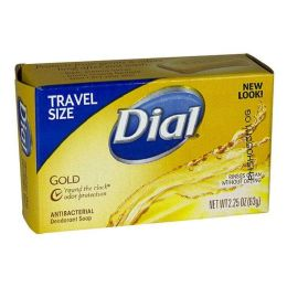 36 Units of Dial Gold Antibacterial Soap Bar 2.25 oz. - Soap & Body Wash