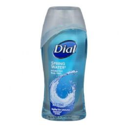 36 Units of Travel Size Dial Spring Water Hydrating Body Wash 2 oz. - Soap & Body Wash
