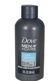 48 Units of Travel Size Dove MENs Body Wash 3 oz. - Soap & Body Wash