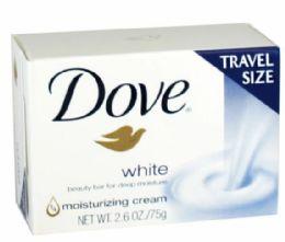 36 Units of Dove White Beauty Soap 2.6 oz. - Soap & Body Wash