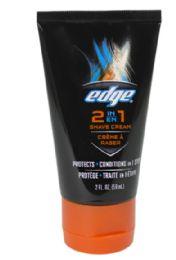 36 Units of Travel Size Shave Cream Edge 2 In 1 Shave Cream 2 oz. - Soap & Body Wash