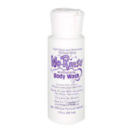 48 Units of Travel Size NoRinse Body Wash 2 oz. - Soap & Body Wash