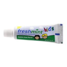 288 Units of Freshmint 0.85 oz. Kids Fluoride Free Toothpaste - Toothbrushes and Toothpaste