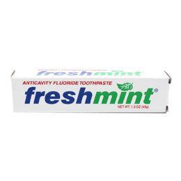288 Units of Freshmint 1.5 oz. Anticavity Fluoride Toothpaste - Toothbrushes and Toothpaste