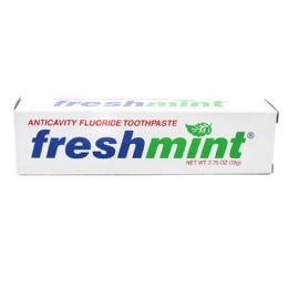 144 Units of Freshmint 2.75 oz. Anticavity Fluoride Toothpaste - Toothbrushes and Toothpaste