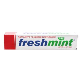 120 Units of Freshmint 4.6 oz. Anticavity Fluoride Toothpaste (individual box) - Toothbrushes and Toothpaste
