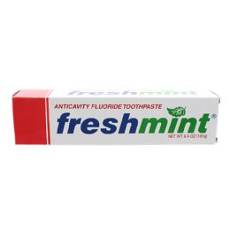 96 Units of Freshmint 6.4 oz. Anticavity Fluoride Toothpaste - Toothbrushes and Toothpaste