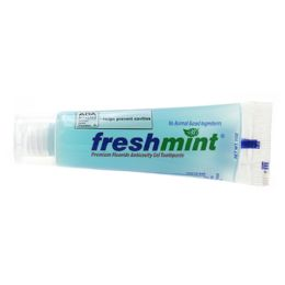 288 Units of Freshmint 1 oz. Premium Clear Gel Anticavity Fluoride Toothpaste (ADA Approved) - Toothbrushes and Toothpaste