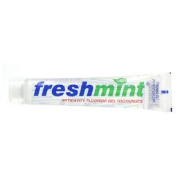 144 Units of Freshmint 2.75 oz. Clear Gel Anticavity Fluoride Toothpaste - Toothbrushes and Toothpaste