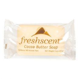 144 Units of Freshscent 5 oz. Cocoa Butter Soap - Soap & Body Wash