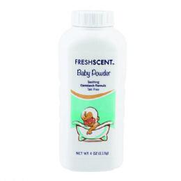96 Units of Freshscent 4 Oz. Talc Free Baby Powder - Baby Beauty & Care Items