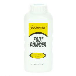 96 Units of Freshscent 4 Oz. Foot Powder - Skin Care