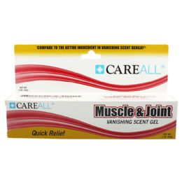 72 Units of CareALL 3 oz. Muscle & Joint Gel - Skin Care